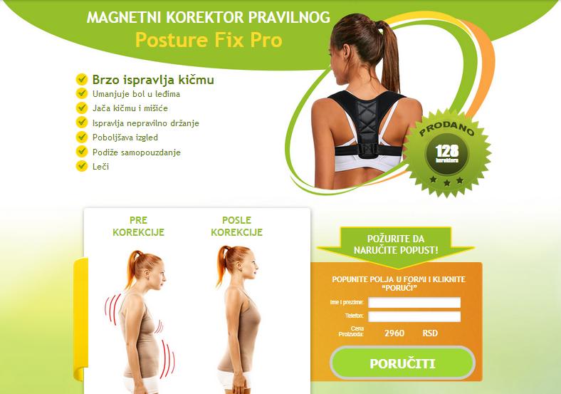 Posture Fix Pro Cijena