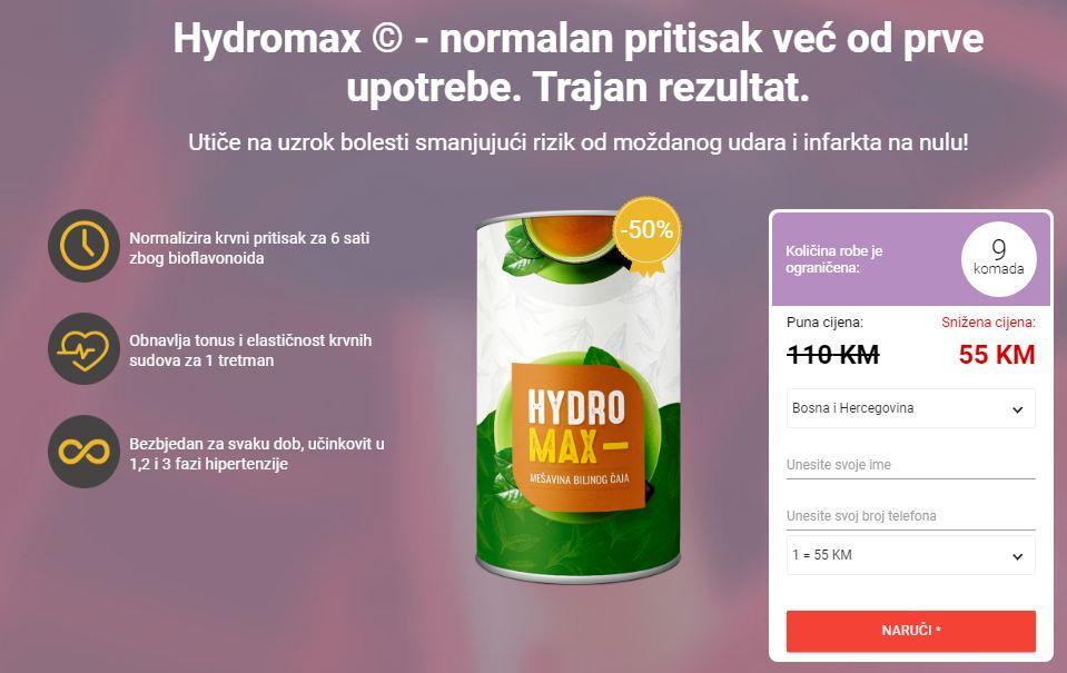 Hydromax Čaj