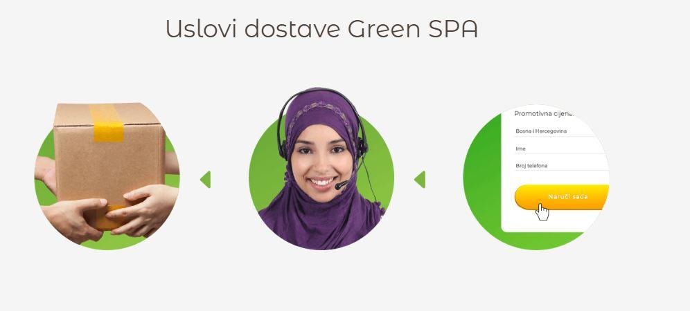 Uslovi dostave Green SPA
