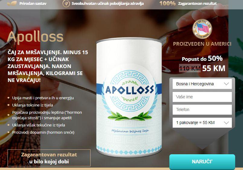 Apolloss Caj Cijena
