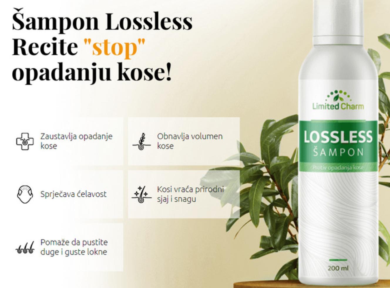 Lossless šampon Cena